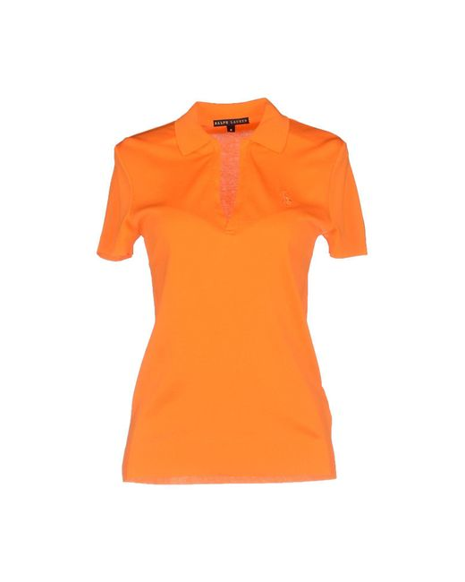 Ralph Lauren Black Label - Orange Sweater - Lyst