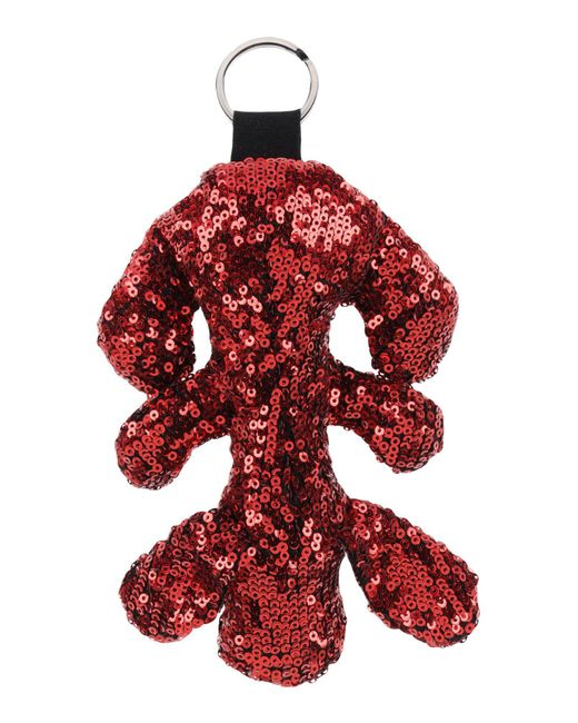 MM6 by Maison Martin Margiela - Red Key Rings - Lyst