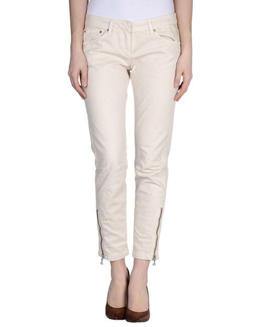 Dondup | White Denim Pants | Lyst