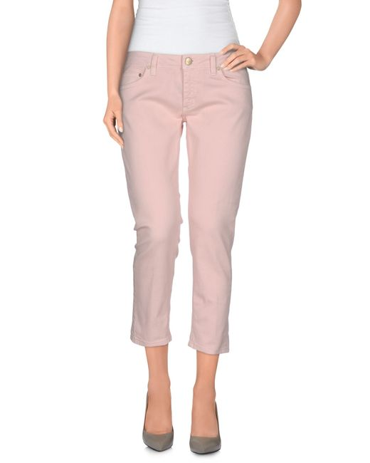 Dondup | Pink Denim Pants | Lyst