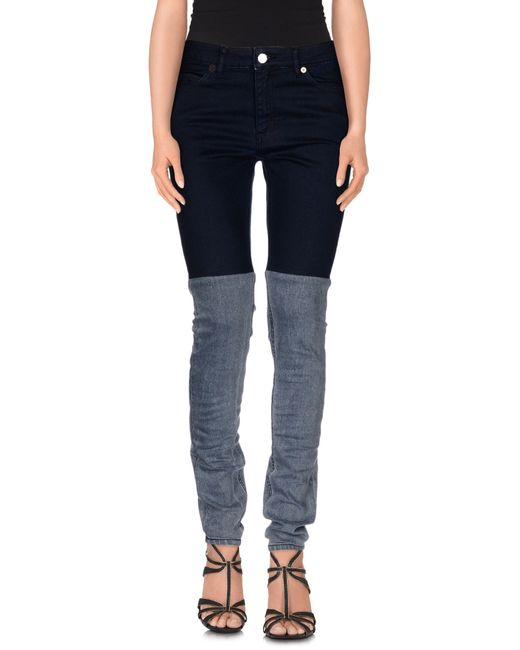 Surface To Air | Blue Denim Pants | Lyst