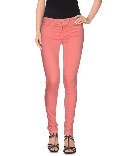 Notify | Pink Denim Pants | Lyst