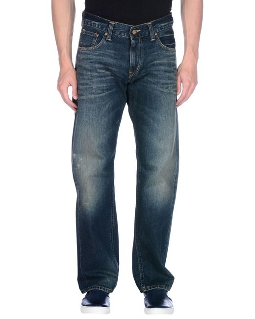 Carhartt | Blue Relaxed Fit Holter Jeans for Men | Lyst