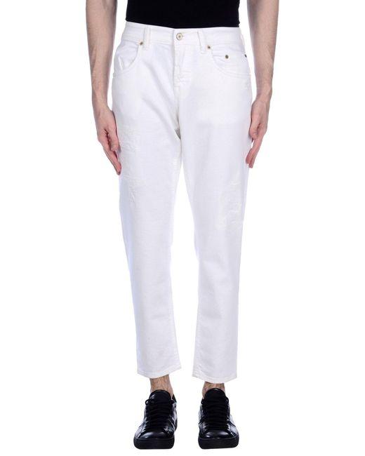 Siviglia | White Denim Pants for Men | Lyst