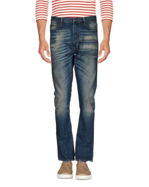 Ring | Blue Denim Trousers for Men | Lyst