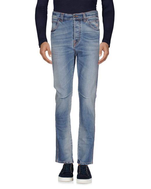 Roy Rogers | Blue Denim Pants for Men | Lyst