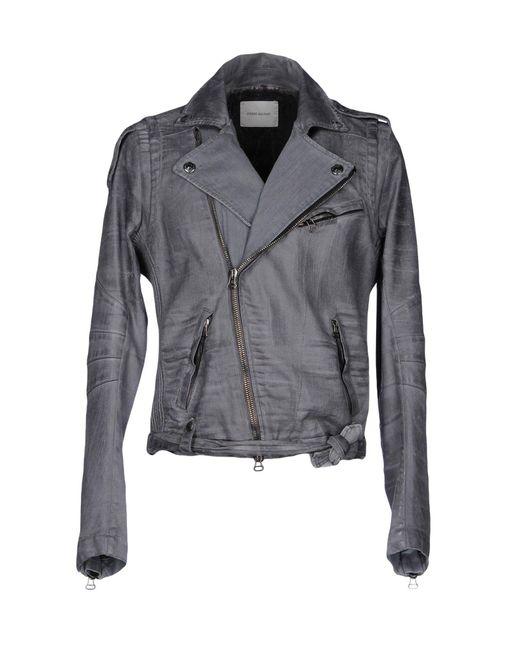 Balmain | Gray Denim Outerwear for Men | Lyst