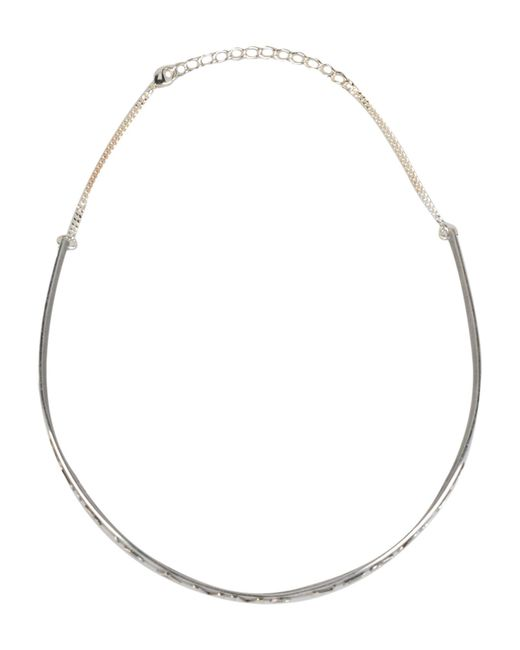 MM6 by Maison Martin Margiela | Metallic Necklace | Lyst
