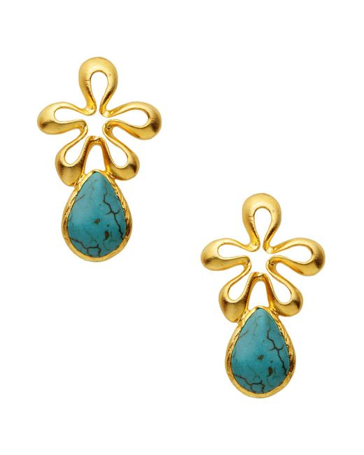 First People First - Blue Earrings - Lyst