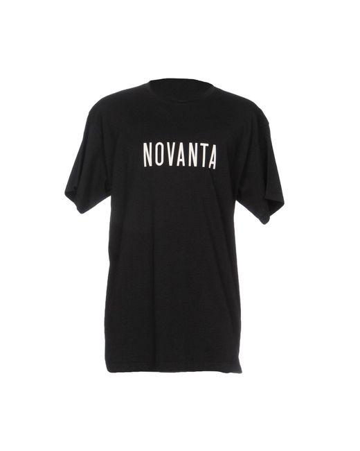 Paura - Black T-shirt for Men - Lyst