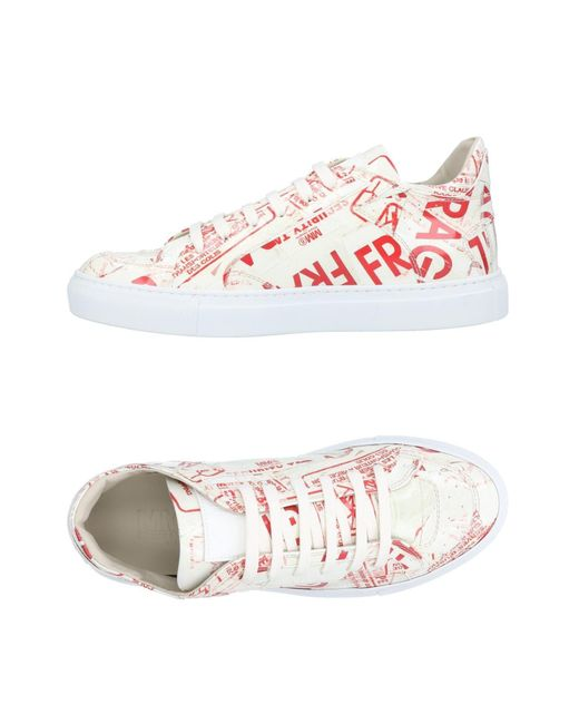 MM6 by Maison Martin Margiela - White Low-tops & Sneakers - Lyst