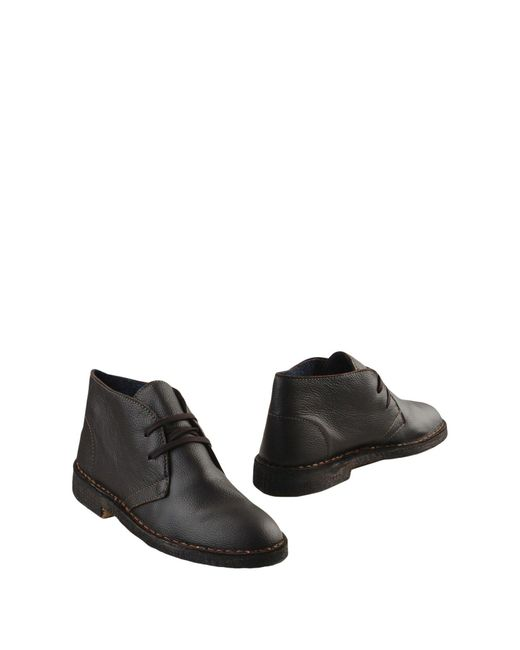 Thompson - Brown Ankle Boots for Men - Lyst