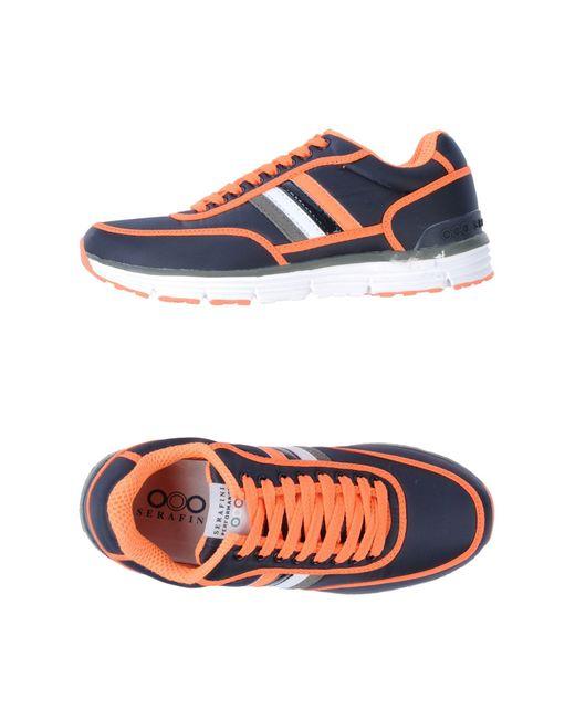 Serafini   Orange Sneaker for Men   Lyst