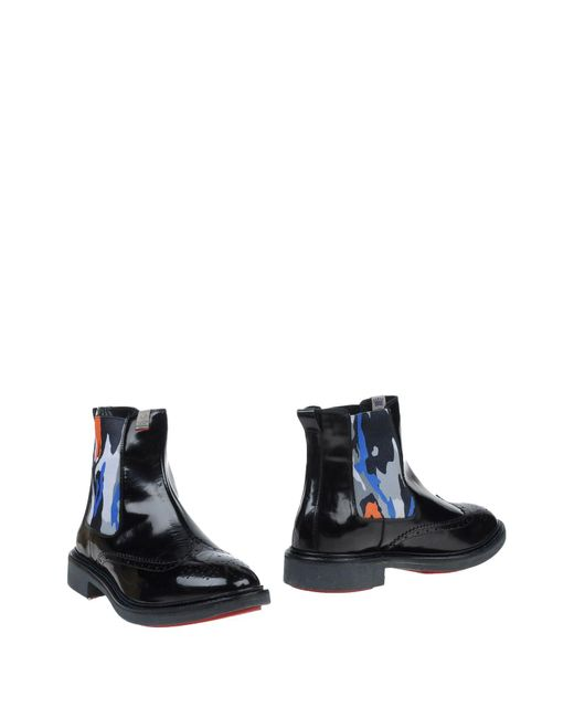 Serafini | Black Ankle Boots for Men | Lyst