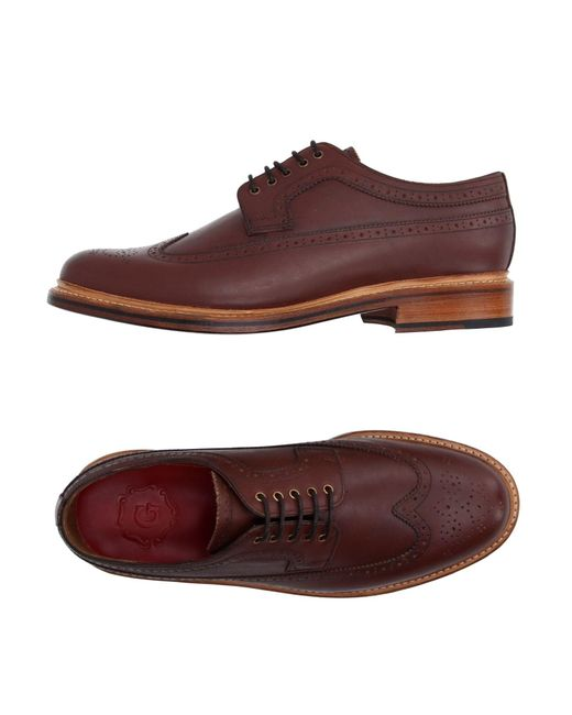 Grenson   Brown Lace-up Shoe for Men   Lyst