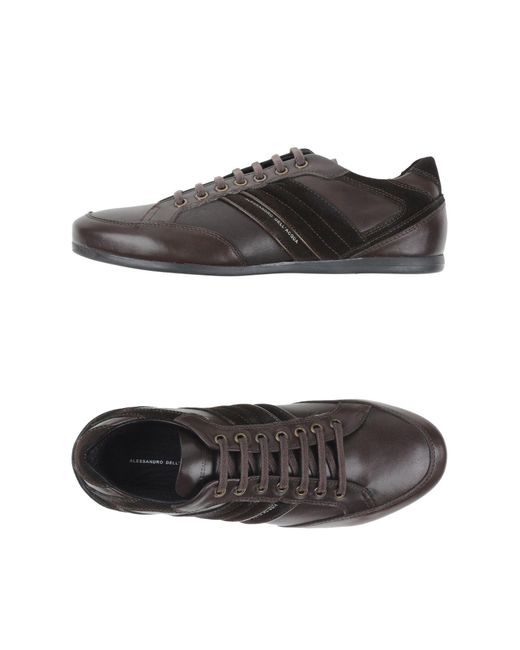 Alessandro Dell'acqua | Brown Lace-up Shoe for Men | Lyst