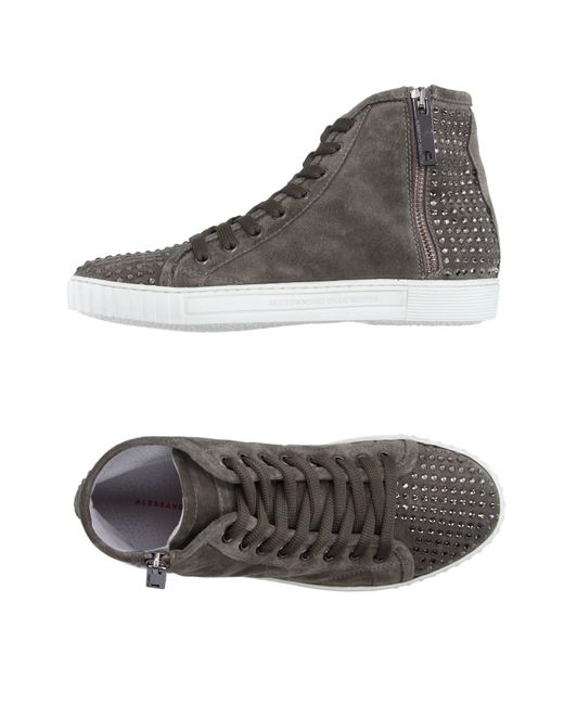 Alessandro Dell'acqua | Gray High-tops & Sneakers | Lyst