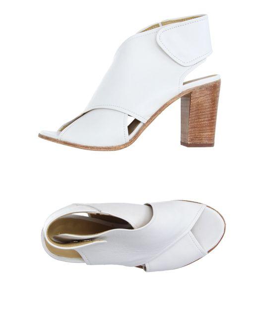 Lemarè   White Sandals   Lyst