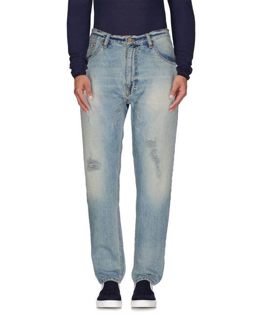 Uniform - Blue Denim Trousers for Men - Lyst