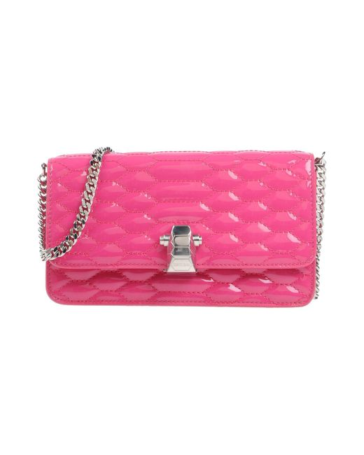 Roberto Cavalli | Pink Cross-body Bag | Lyst