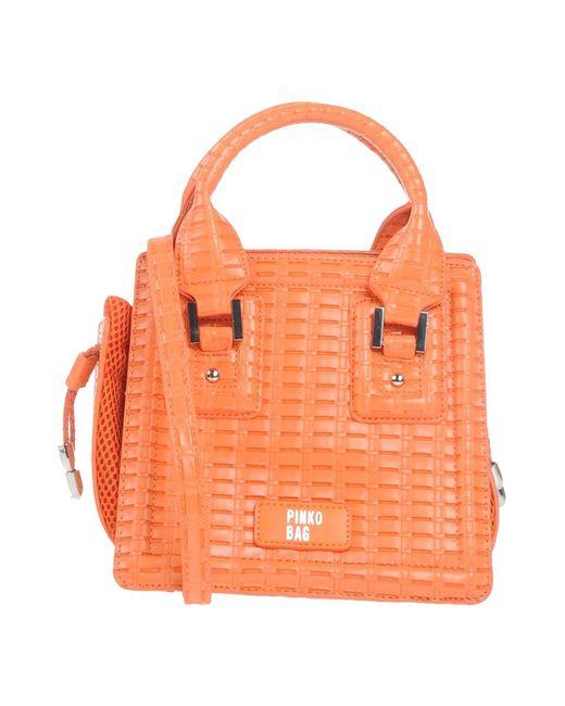 Pinko | Orange Handbag | Lyst