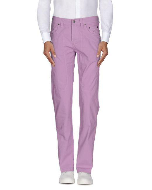 Jeckerson   Purple Casual Trouser for Men   Lyst