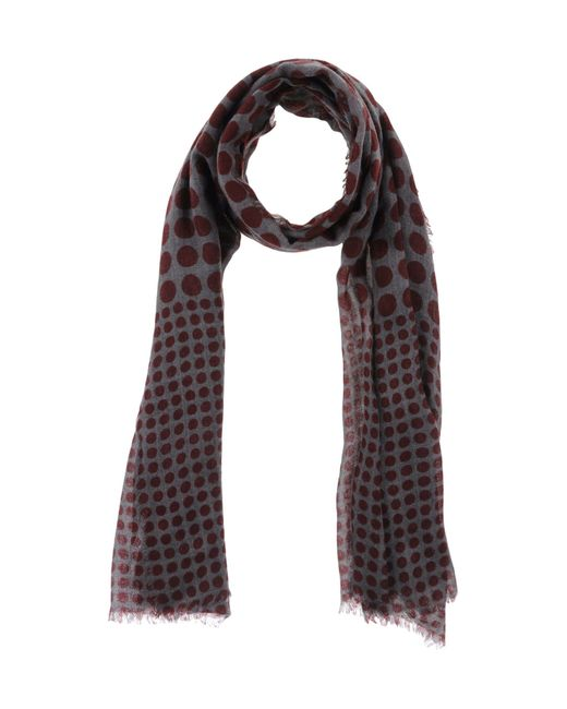 erfurt oblong scarf in gray lyst