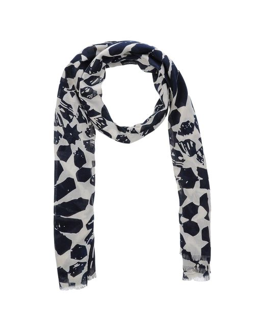 French Connection | White Scarf | Lyst