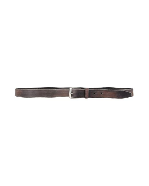 John Varvatos | Gray Belt for Men | Lyst