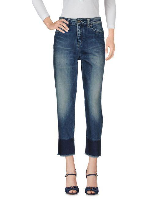 Drykorn - Blue Denim Trousers - Lyst