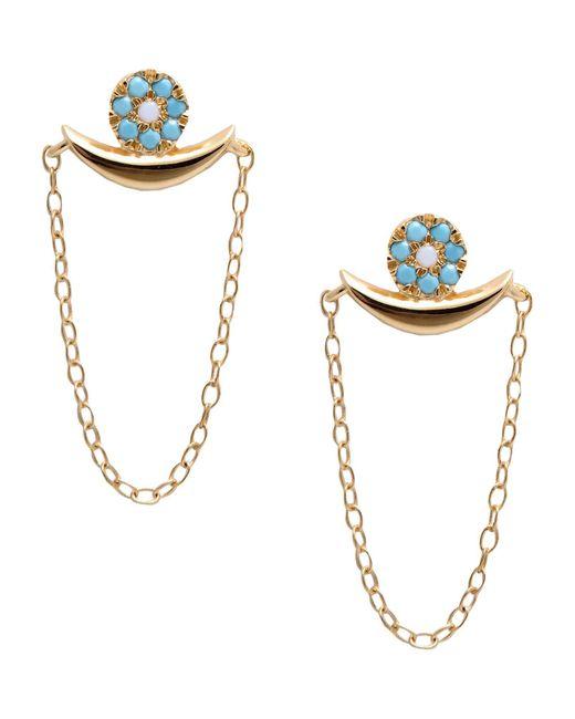 Ileana Makri - Metallic Earrings - Lyst