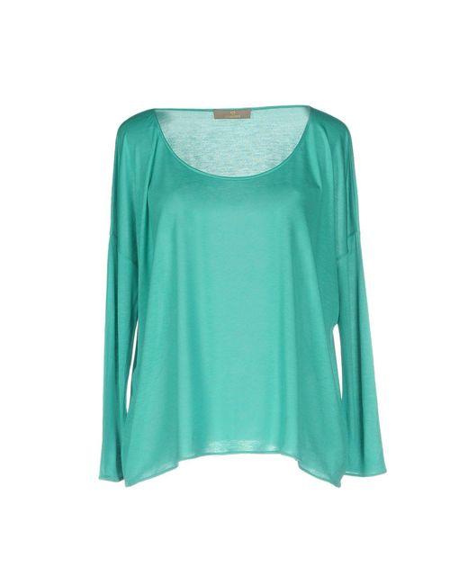 Cruciani - Green T-shirt - Lyst