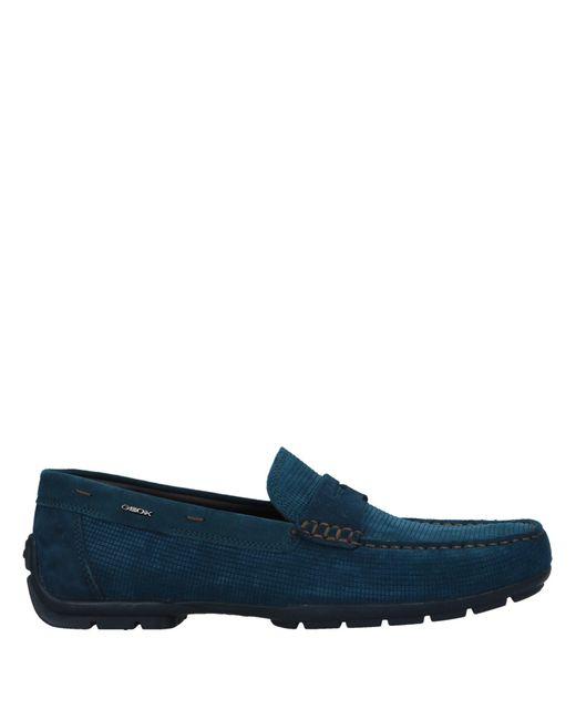 Geox - Blue Loafer for Men - Lyst