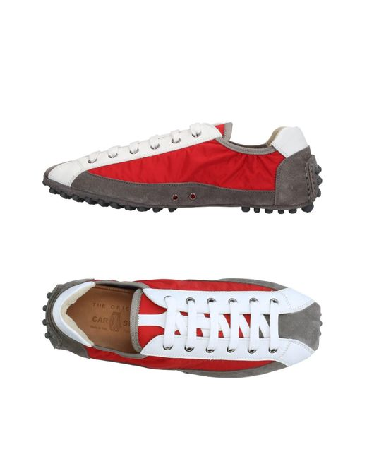 Car Shoe | Red Low-tops & Sneakers for Men | Lyst
