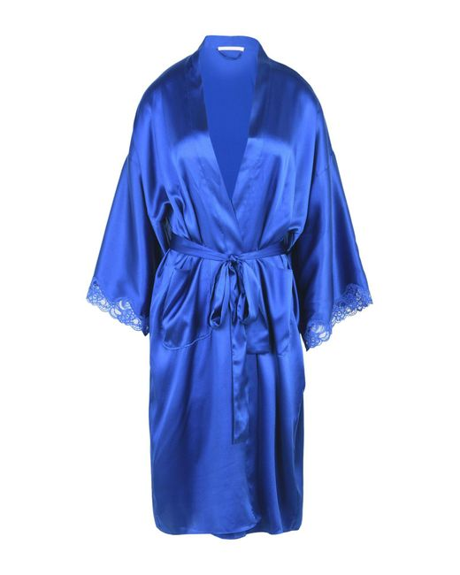 stella mccartney robe in blue save 10 lyst. Black Bedroom Furniture Sets. Home Design Ideas