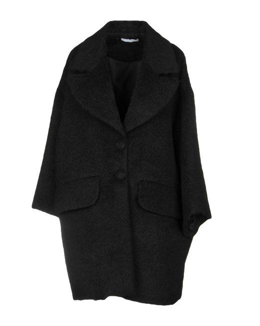 Vivetta - Black Coat - Lyst