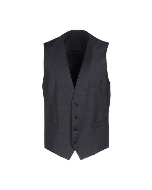 Dolce & Gabbana   Gray Waistcoat for Men   Lyst