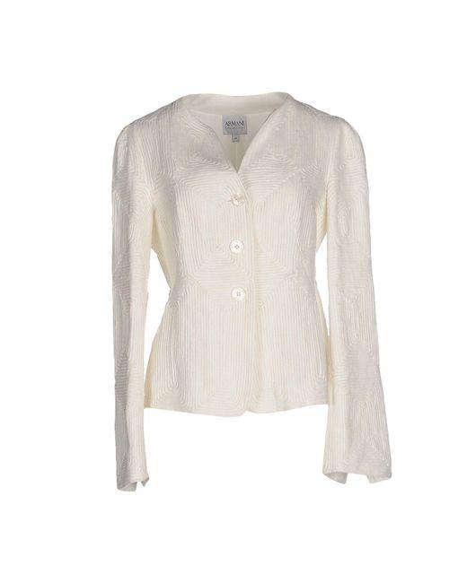 Armani | White Blazer | Lyst