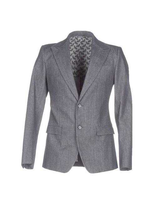 Dolce & Gabbana | Gray Blazer for Men | Lyst