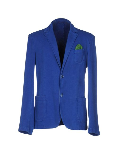 Fradi | Blue Blazer for Men | Lyst