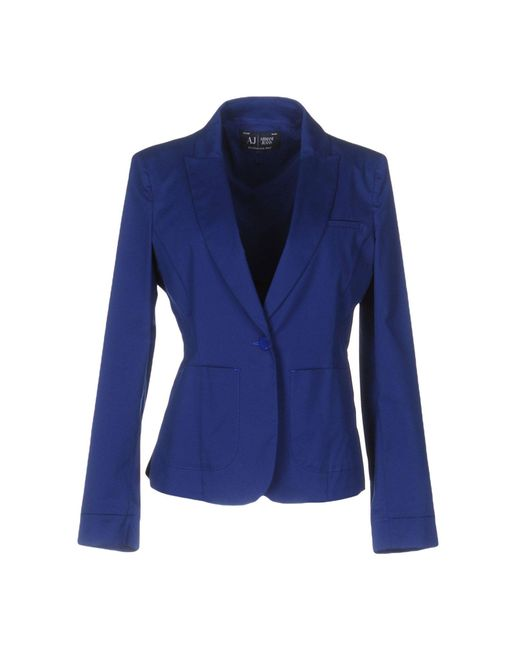 Armani Jeans | Blue Blazer | Lyst