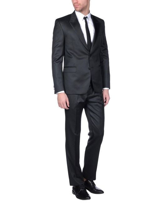 Versace Suit In Black For Men