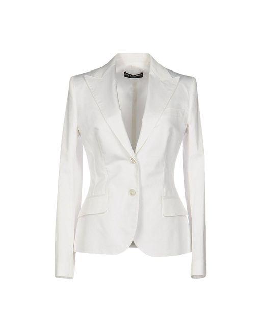 Dolce & Gabbana | White Blazer | Lyst