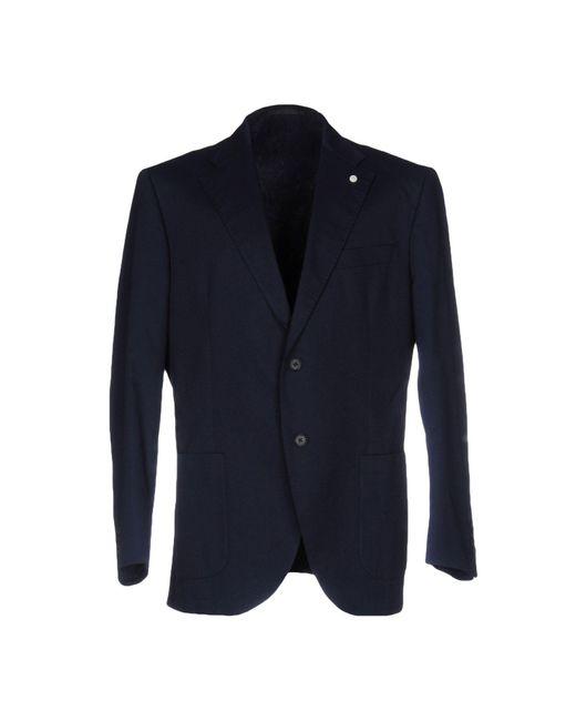 Luigi Bianchi Mantova | Blue Blazer for Men | Lyst