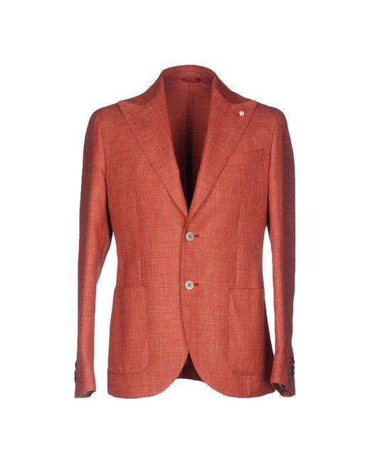 Luigi Bianchi Mantova | Red Blazer for Men | Lyst
