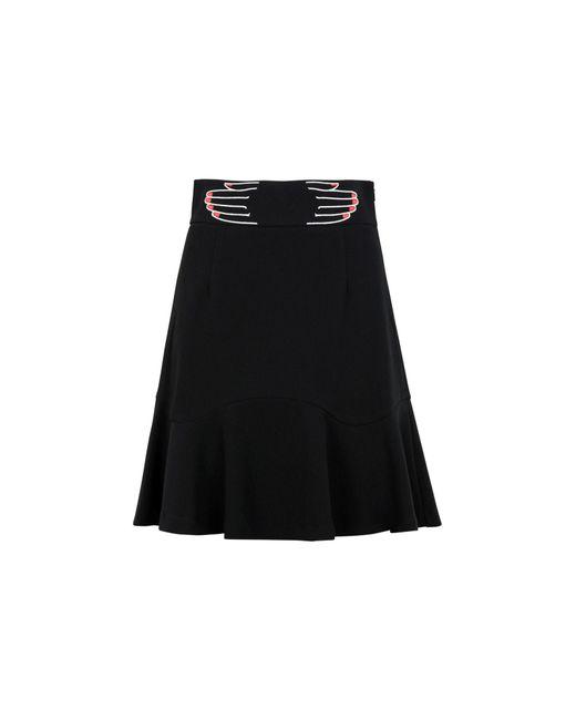 5ea82d5c19 Lyst - Vivetta Knee Length Skirt in Black - Save 51%