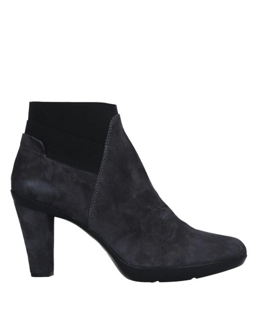 Geox - Gray Ankle Boots - Lyst