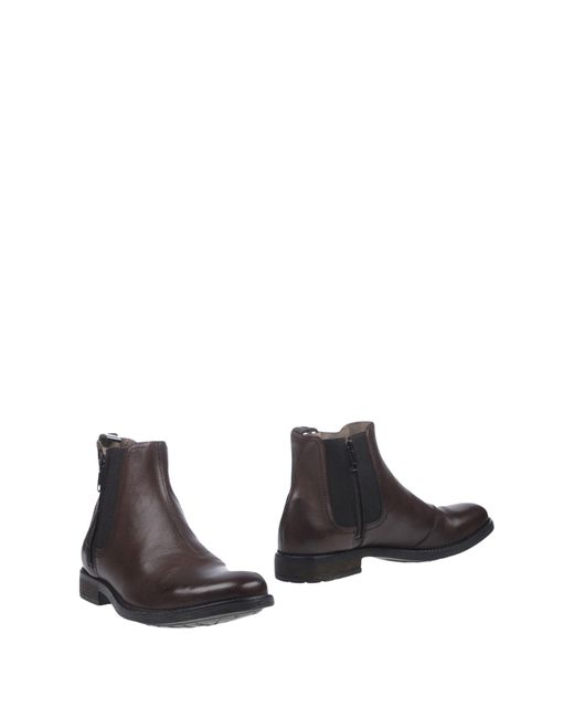 DIESEL | Brown Ankle Boots for Men | Lyst