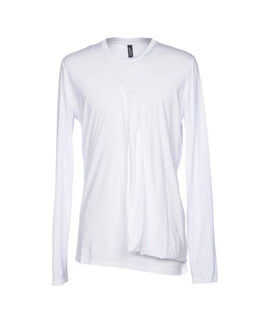 Tom Rebl - White T-shirts for Men - Lyst
