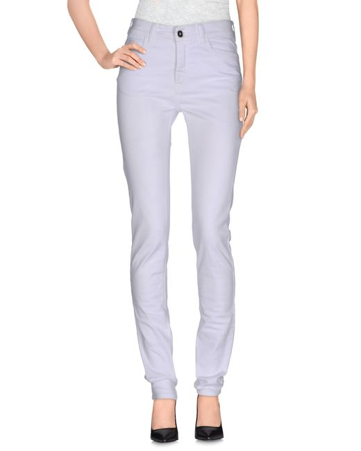 MM6 by Maison Martin Margiela - White Casual Pants - Lyst